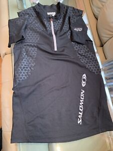 Salomon s-lab running Shirt Black (Small)