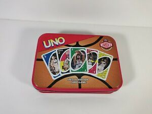 UNO NBA Western Conference Edition Card Game Sabba Toys 2006 Complete