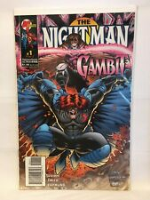 Nightman Gambit #1 NM- 1st Print Malibu Comics