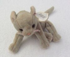 TY BEANIE BABIES SCAT THE CAT  1998 ERROR ON TAG