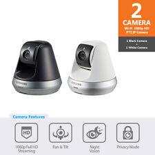SNH-V6410PN-BW - Samsung Wifi 1080p Compact Pan&Tilt Home Monitoring Camera