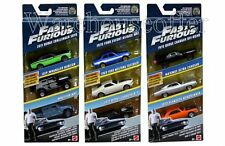 HOT WHEELS 1:55 FAST & FURIOUS DIE-CAST 3-PACK SET FORD DODGE JEEP FCG01-956A