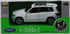 WELLY MERCEDES - BENZ GLK WHITE 1:34 DIE CAST METAL MODEL NEW IN BOX
