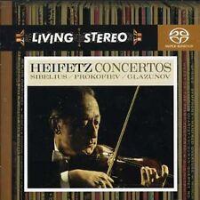 Jascha Heifetz - Violin Concertos [New SACD] Hybrid SACD