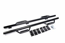 2009-2014 Ford F-150 Super Crew Cab Drop Side Hoop Steps Nerf Bar Run Board BLK