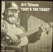 Art Thieme - That's The Ticket LP VG+ FSI 90 Vinyl 1983 Record w/Book
