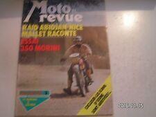 **e Moto revue n°2252 350 Morini / 175 Ossa enduro / salon de Bruxelles
