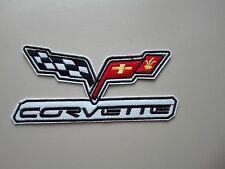 Aufnäher Patch Corvette Racing Motorsport Tuning Autocross Biker Bügelbild