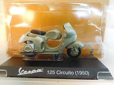 Eso-9583 1:18 Maisto VESPA 125 circuito (1950) ottime condizioni