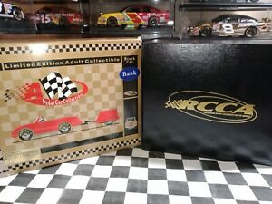 Dale Earnhardt #3 Goodwrench Service  Monte Carlo & Trailer Pedal Car 1999 BANK