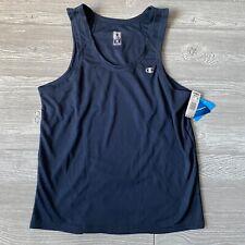 New champion duo dry blue Tank Shirt Mens Size medium