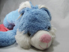 "Hug and & Luv Blue Easter Bunny Rabbit Floppy Plush 32"" 2014"