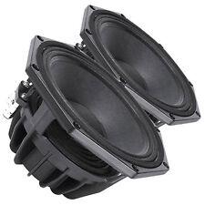 Pair Faital Pro W8N8-150 8ohm Neodymium 8 Midbass Midrange Replacement Speaker