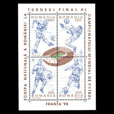 Romania 1998 - Football World Cup - France Soccer - Sc 4220 MNH