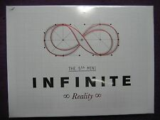 Infinite / Reality (5TH MINI ALBUM) (Normal Edition) CD w/Photo Card NEW Sealed