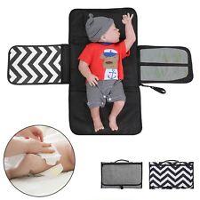 Baby Portable Folding Diaper Travel Changing Pad Waterproof Mat Bag Storage