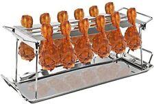 Sorbus 12 Slot Chicken Leg Grill Stand – Multi-Purpose Non-Stick Poultry Stand