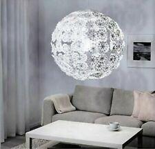"Ikea GRIMSAS Ceiling Pendant Lamp LARGE 32"" Decorative Floral White NEW"