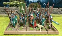 Well Painted Elf Spearmen Unit - Mantic Kings of War #1
