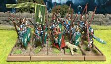 Well Painted Elf Spearmen Unit - Mantic Kings of War #1