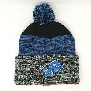 NEW! '47 NFL Team Headwear Knit Beanie - Unisex O/S, Detroit Lions