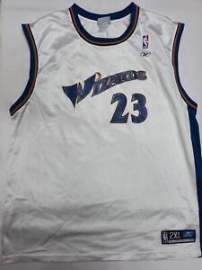 Reebok NBA Washington Wizards Jersey 23 Jordan in White Size 2XL