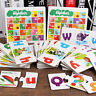 Case Matching Alphabet Cognitive Block Puzzle Early English Teaching Toy Hot