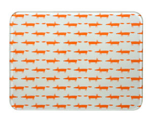 Scion Mr Fox Stone Worktop Saver 30x40cm Counter Protector Trivet Hot Pan Rest