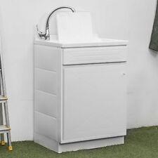 Pratico lavatoio 50x50  1 anta vasca e piano lavapanni