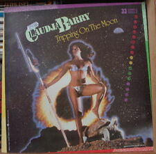 CLAUDJA BARRY TRIPPIN'ON THE MOON COVER MAXI 45t FRENCH LP  VOGUE 1984