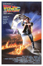 Back to the Future (1985) original movie poster - ss - near mint -unused -rolled