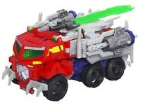 Transformers Beast Hunters OPTIMUS PRIME Complete Prime Voyager