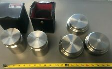 Lot of 5 (5kg) Calibration Weight (2) x Rice Lake Class 3, (3) x marked 5 KG AND