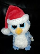 Ty Beanie Boo ~ FAIRBANKS ~ BLUE CHRISTMAS PENGUIN ~2012~ RETIRED