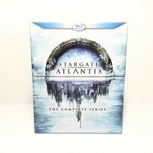 Stargate Atlantis Complete Series Blu-ray Collection, 20-Disc Box Set - Like NEW