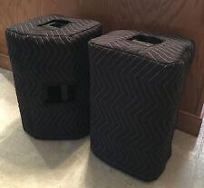 QSC K10.2 K 10.2 Premium Padded Black Speaker Covers (2)   Quantity of 1=1 Pair!