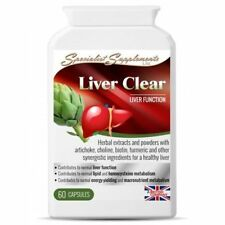 Liv and Gall Clear - Liver Support Supplement - OFFICIAL STOCKIST 60Capsules