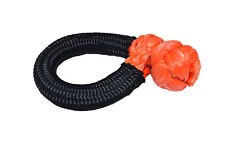 14mm×80mm Soft Shackles,UHMWPE Synthetic Shackle,ATV Winch Shackle for Offroad