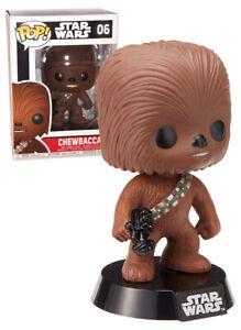 Funko POP! Star Wars #06 Chewbacca (Black Box) - New, Mint Condition