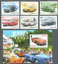 Jersey Classic Motor Cars set and Min sheet mnh