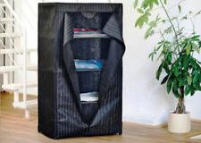 Stauraumwunder PORTO / Textil-Kleiderschrank - 150x75x50 + 4 Vakuumtaschen 80x60