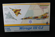 YU006 EDUARD 1/48 maquette avion 8494 Mirage III CJ