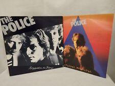 "THE POLICE  2 x 12"" Vinyls Regatta de Blanc & Zenyatta Mondatta 1980  (CHA)"