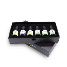 Aromatherapy Essential Oils Set Of 6x10ml 100% Pure Organic Scent