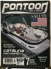 Pontoon & Deck Boat Catalina Salute The Troops July 2017 FREE SHIPPING JB