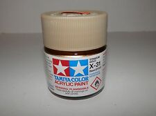 Tamiya Color Acrylic Paint Titanium Gold #X-31 (23ml) NEW