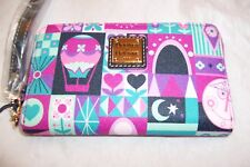 """AUTHENTIC DISNEY PARKS """"IT'S A SMALL WORLD"""" WALLET BY DOONEY & BOURKE NWT #1"""