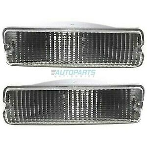 NEW LEFT & RIGHT SIGNAL LAMP FITS 1991-1993 DODGE D150 CH2520106 CH2521106