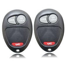 2PCS Remote Keyless Key Fobs for Chevrolet Colorado Canyon H3 Entry Key Shell