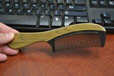 HANDMADE WOOD ANTI STATIC HAIR SANDALWOOD COMB WOMEN #T-2795